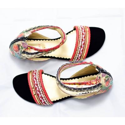 ladies strip sandal