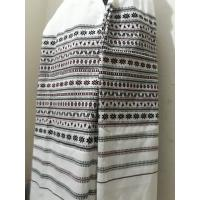 Traditional White Thar Shawl