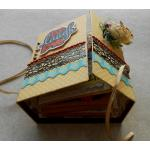 Beautiful Handmade Exploding 10 Pages Mini Story Book