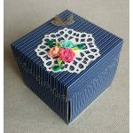 Beautiful Handmade Exploding Box Love Card for Him or Her