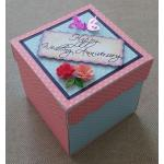 Beautiful Handmade Exploding Box Card for Marriage Anniversary
