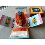 Beautiful Handmade Exploding Box Card for Marriage Anniversary for Him or Her