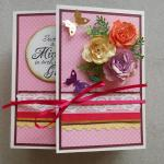 Beautiful Handmade Exploding 10 Pages Mini Story Book for Her