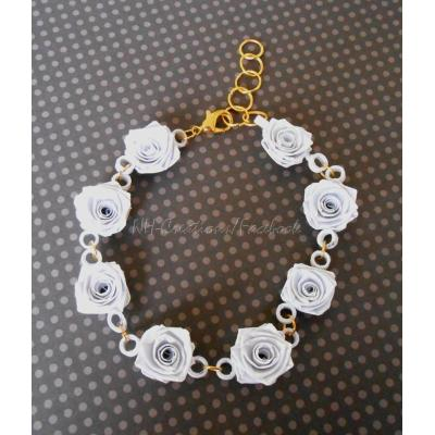 Beautiful Handmade Flower Design Bracelet for Her