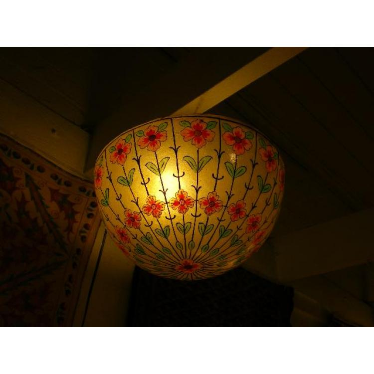 Flower texture Hanging Lamp