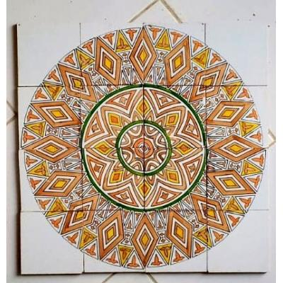 Lovely Ceramic Hand Painted Tiles