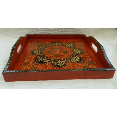 Swati Wooden Serving Tray