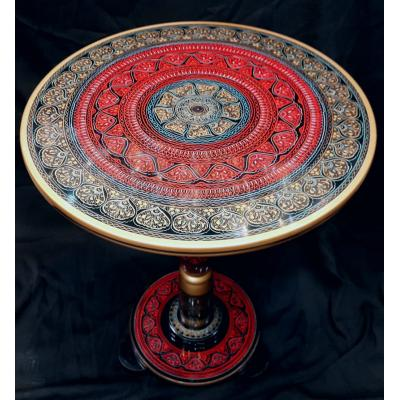 Wooden Handmade Nakshi Art Coffee Table