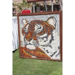 Tiger Mosaic Art