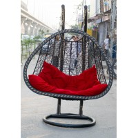 Swing Chair Plastic Weaving Double