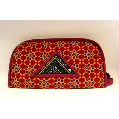 Embroidery Clutch Multi Colors