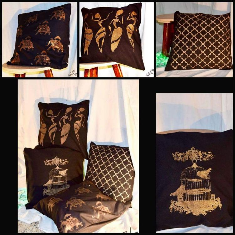 screen printing cushions