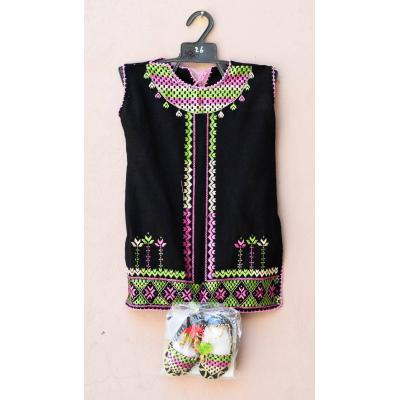 embroidered frock for baby girl