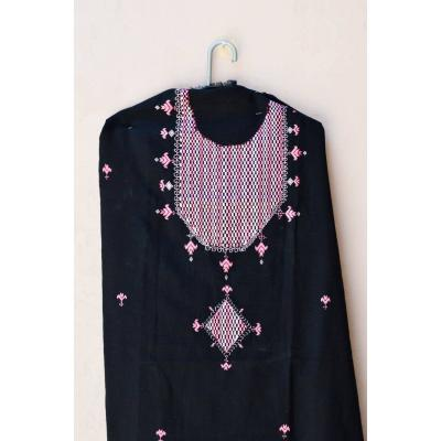 black embrodered kurti