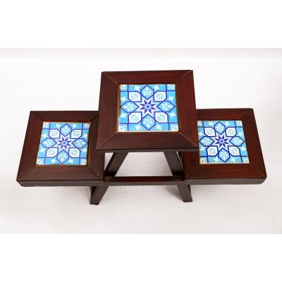 Nestop Table With Tile Work
