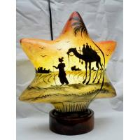 Camel skin star lamp with camel design
