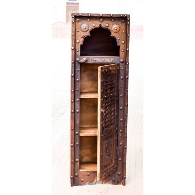 Swati Hand Carved Wooden Cabinet