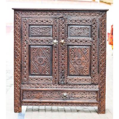 Multipurpose cabinet with beautiful floral design