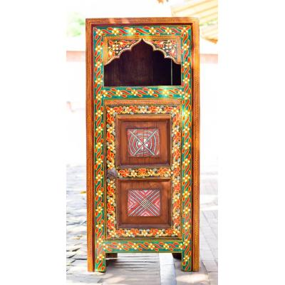 Multipurpose almarih with 1 door and single shelf