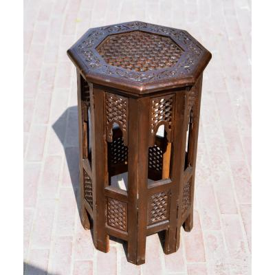 Hand carved coffe table