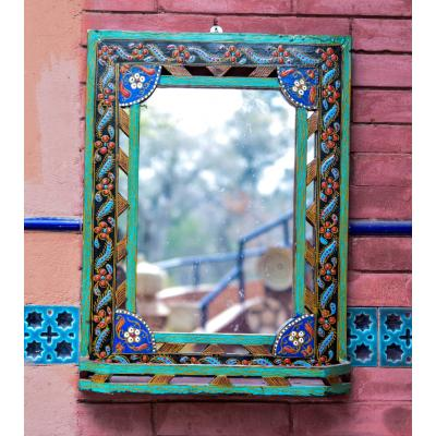 mirror frame hand painted