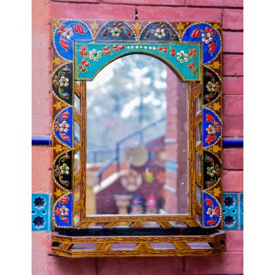 Mirror frame painted