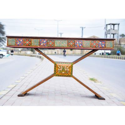 Hand painted X table