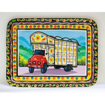 Truck Art Tray Truck Painted