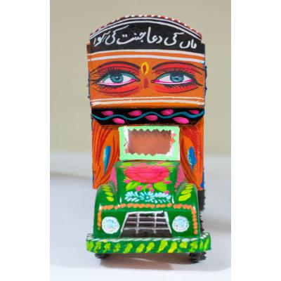 Hand painted truck model