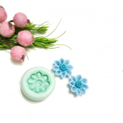 Clay Flower Mold