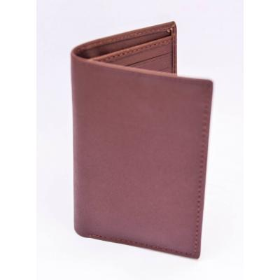 Brown Cow Skin Pure Leather Wallet