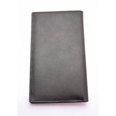 Black Leather Coat Wallet