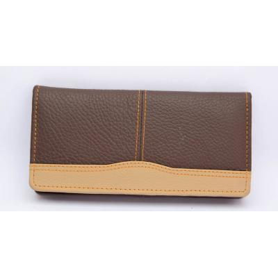 Brown Ladies Hand Carry Bill Fold